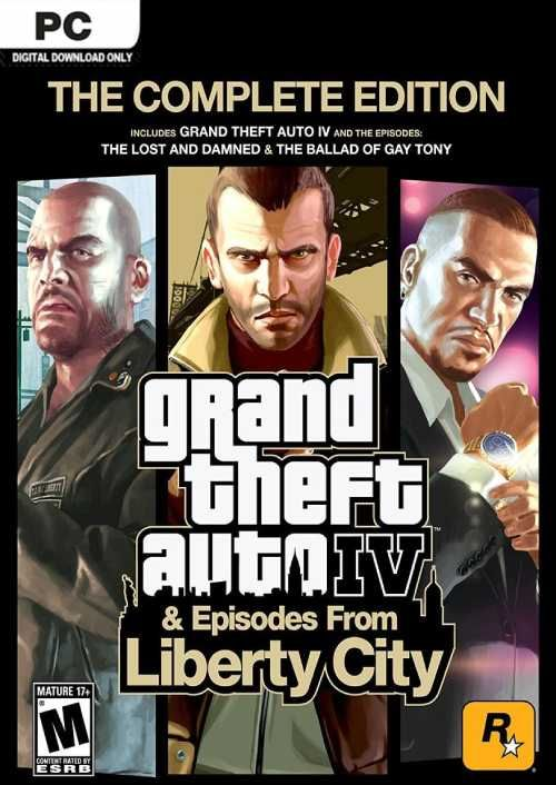 Grand Theft Auto IV 4: Complete Edition | PC | CDKeys