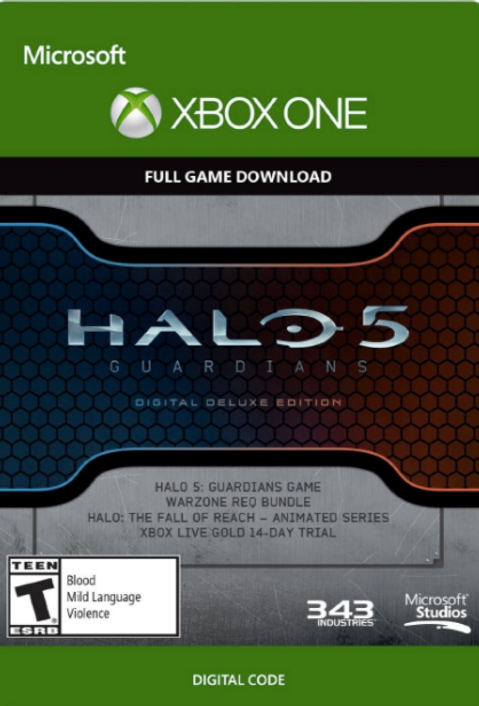 Halo 5 Guardians Digital Deluxe Edition Xbox