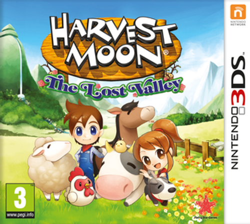 Harvest Moon: The Lost Valley Nintendo 3DS/2DS - Game Code