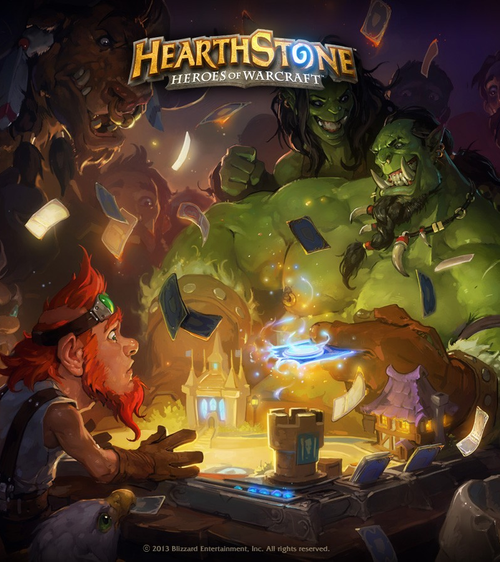 Hearthstone Heroes of Warcraft - Deck of Cards DLC