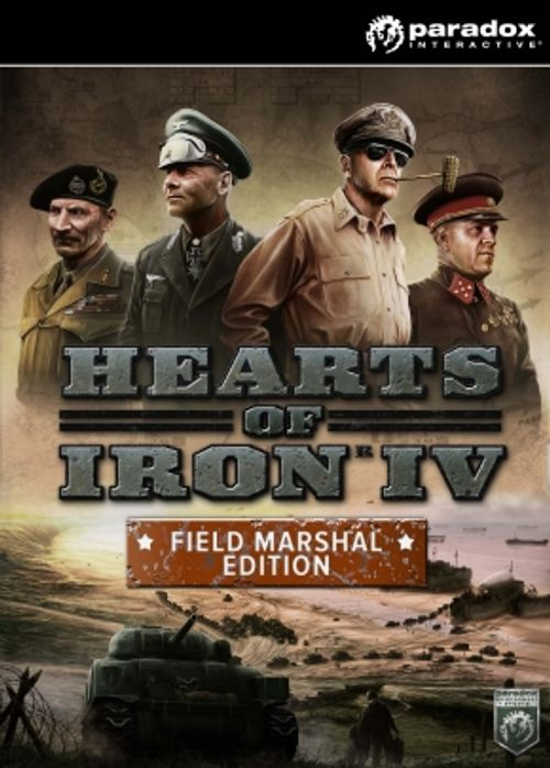 Hearts of Iron IV 4 Field Marshal Edition PC