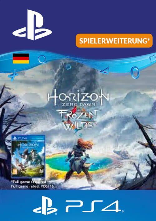 Horizon Zero Dawn Frozen Wild PS4 (Germany)