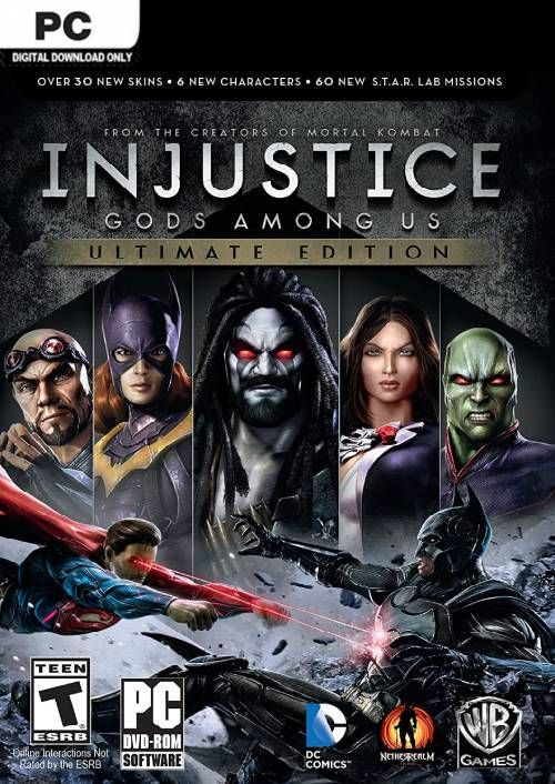 Injustice Gods Among Us - Ultimate Edition PC