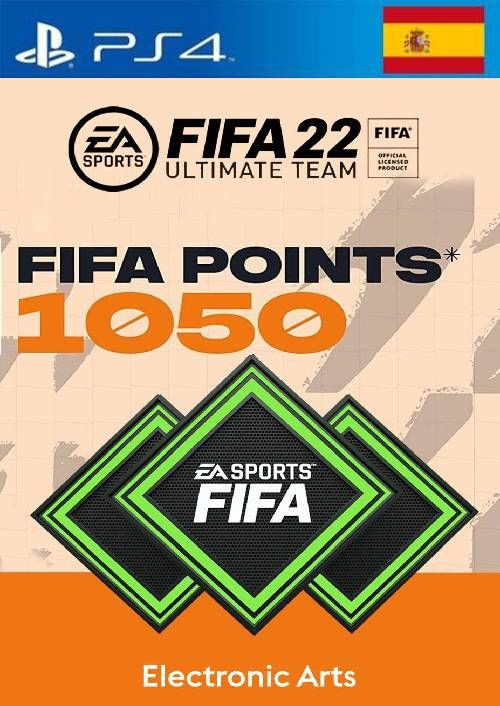FIFA 22 Ultimate Team 1050 Points Pack  PS4/PS5 (Spain)