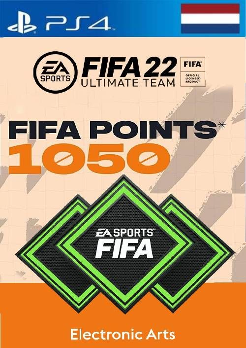 FIFA 22 Ultimate Team 1050 Points Pack  PS4/PS5 (Netherlands)