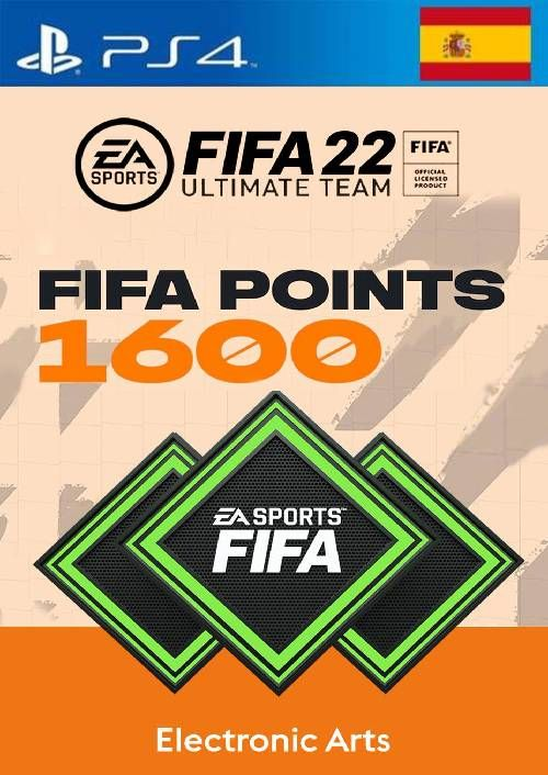 FIFA 22 Ultimate Team 1600 Points Pack  PS4/PS5 (Spain)