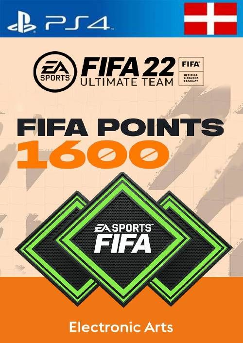 FIFA 22 Ultimate Team 1600 Points Pack  PS4/PS5 (Switzerland)