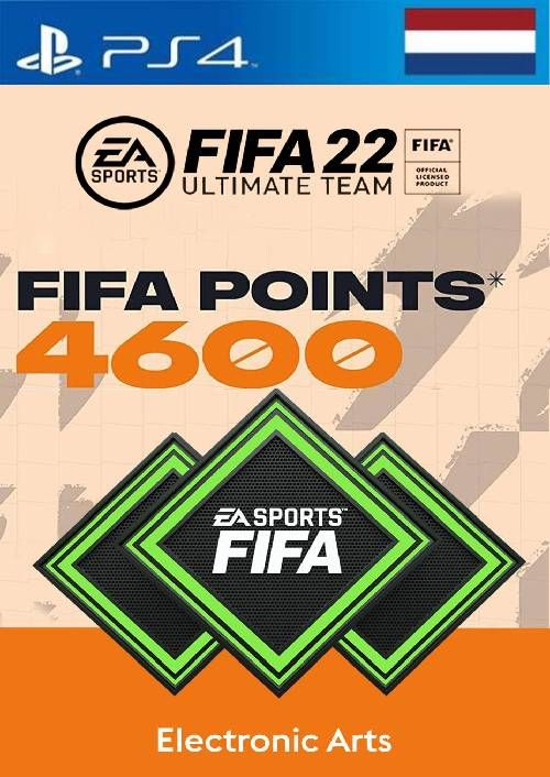 FIFA 22 Ultimate Team 4600 Points Pack  PS4/PS5 (Netherlands)