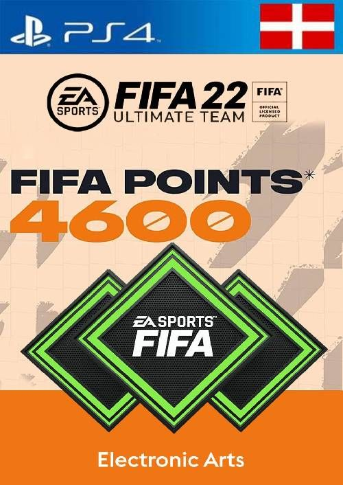 FIFA 22 Ultimate Team 4600 Points Pack  PS4/PS5 (Switzerland)
