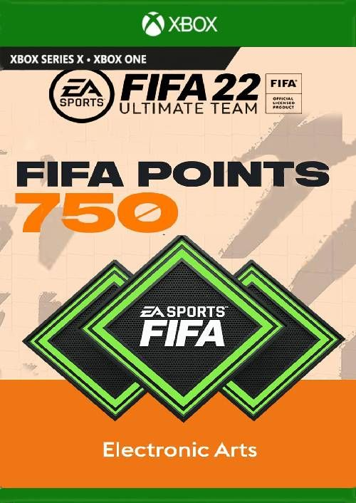 FIFA 22 Ultimate Team 750 Points Pack Xbox One/ Xbox Series X|S