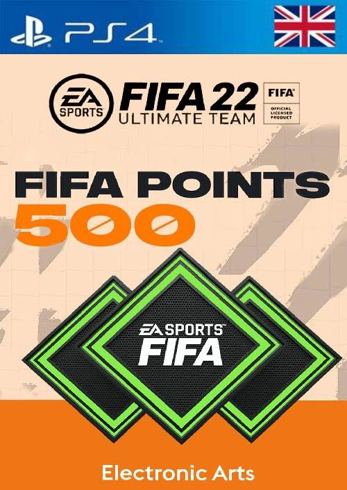 FIFA 22 Ultimate Team 500 Points Pack PS4/PS5 (UK)