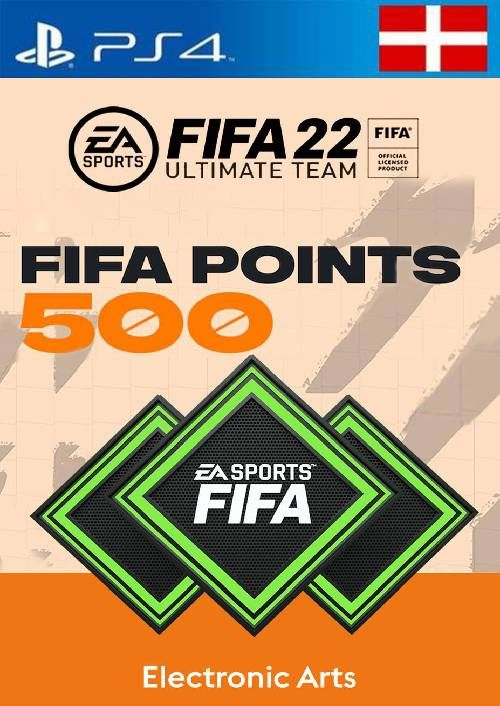 FIFA 22 Ultimate Team 500 Points Pack PS4/PS5 (Switzerland)