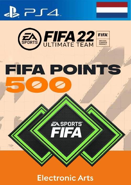 FIFA 22 Ultimate Team 500 Points Pack  PS4/PS5 (Netherlands)