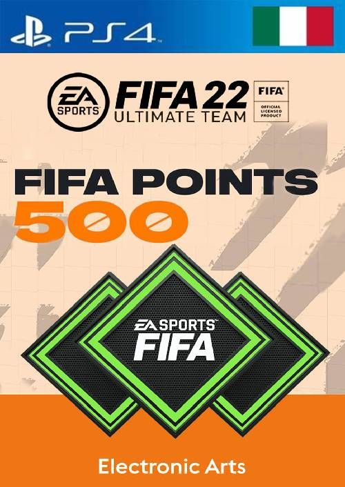 FIFA 22 Ultimate Team 500 Points Pack  PS4/PS5 (Italy)
