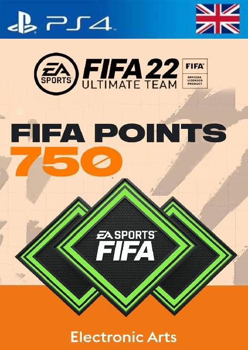 FIFA 22 Ultimate Team 750 Points Pack  PS4/PS5 (UK)