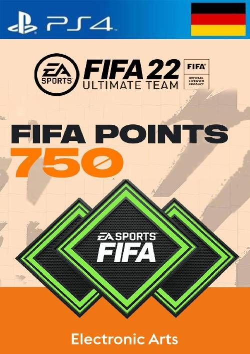 FIFA 22 Ultimate Team 750 Points Pack  PS4/PS5 (Germany)
