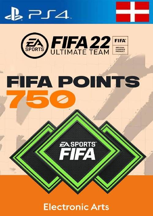 FIFA 22 Ultimate Team 750 Points Pack  PS4/PS5 (Switzerland)