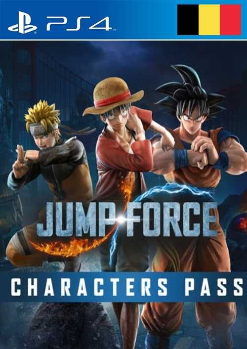 JUMP FORCE - Characters Pass PS4 (Belgium)