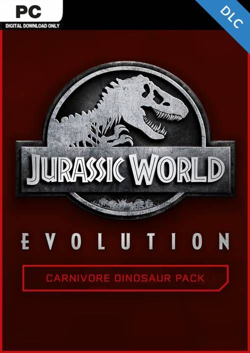 Jurassic World Evolution PC: Carnivore Dinosaur Pack DLC