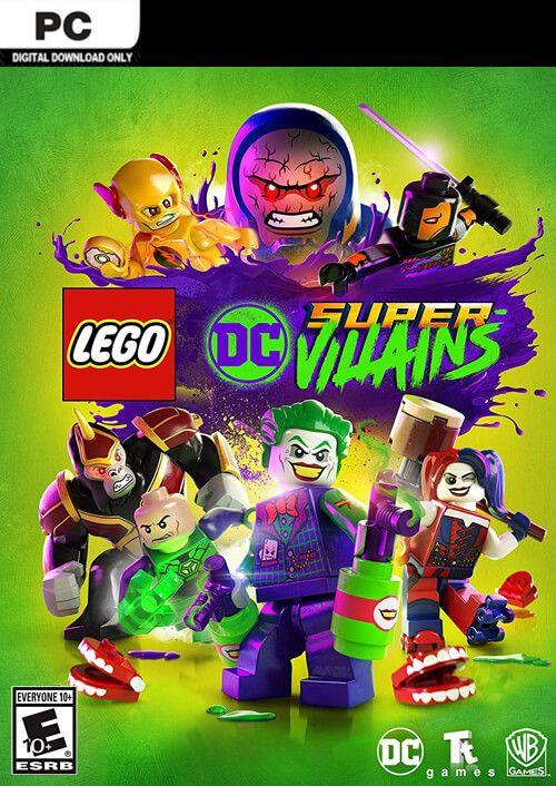 LEGO DC Super-Villains for PC [Digital Download]