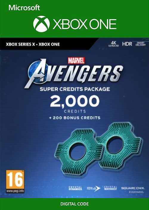 Marvel's Avengers: Super Credits Package Xbox One