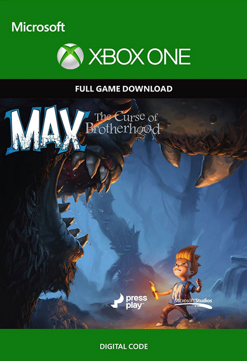 Max: The Curse of Brotherhood - Xbox One Digital Code