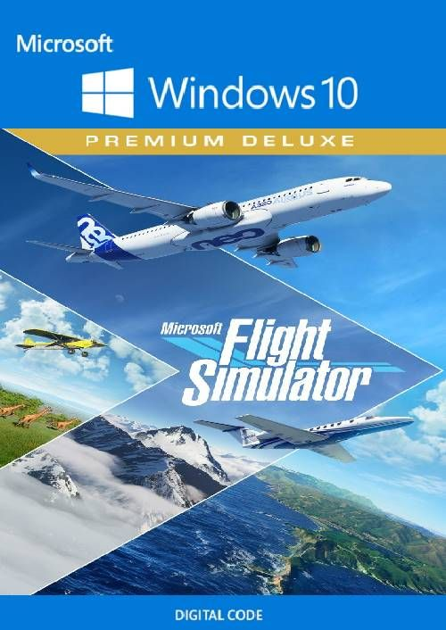 Microsoft Flight Simulator Premium Deluxe - Windows 10 PC
