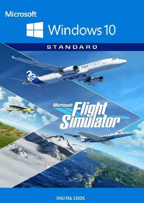 Simulateur de vol Microsoft - Windows 10 PC (UK)