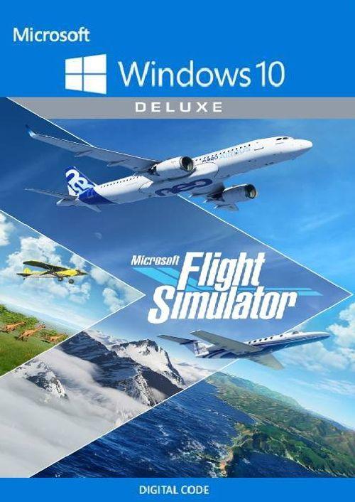 Microsoft Flight Simulator: Deluxe Edition - Windows 10 PC (US)