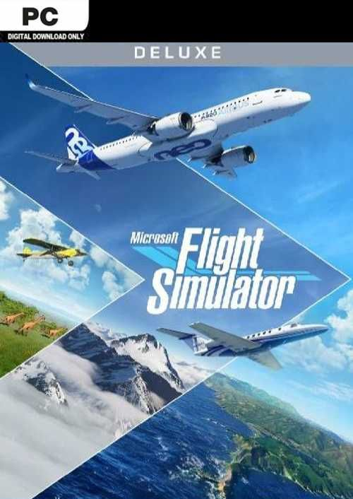 Microsoft Flight Simulator Deluxe Edition PC (Steam)