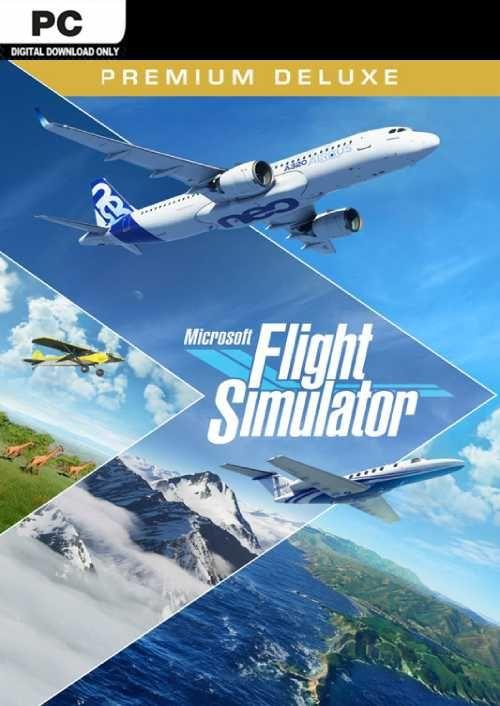 Microsoft Flight Simulator Premium Deluxe PC (Steam)
