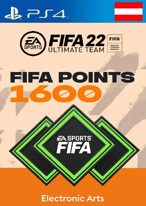 FIFA 22 Ultimate Team 1600 Points Pack  PS4/PS5 (Austria)