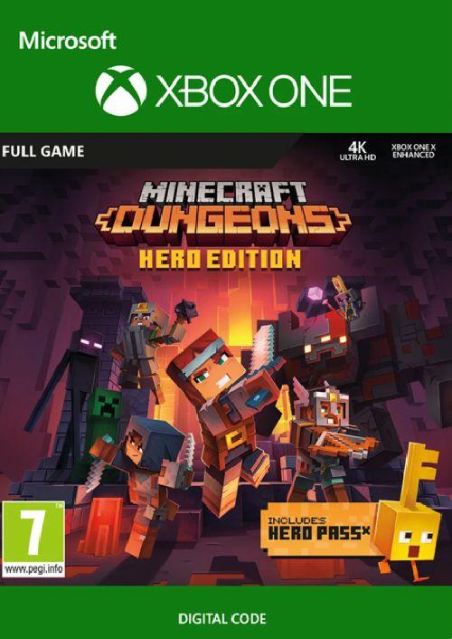 Minecraft Dungeons Hero Edition Xbox One