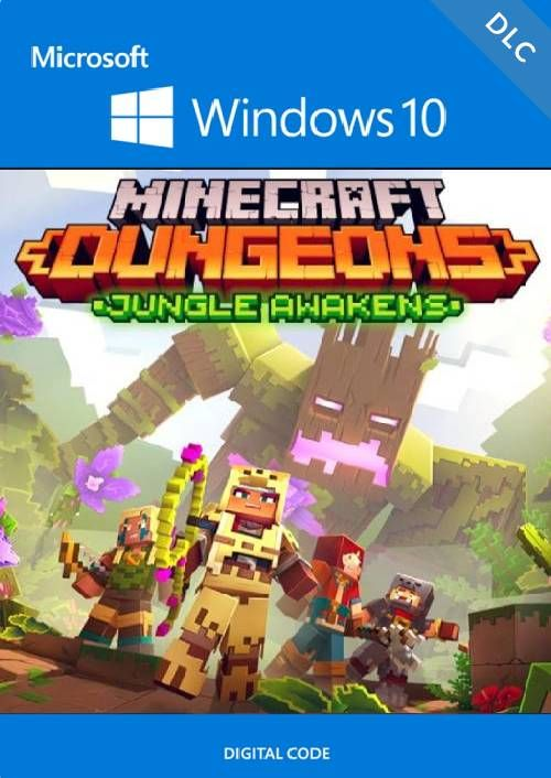 Minecraft Dungeons: Jungle Awakens Windows 10 PC - DLC (UK)