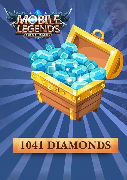 Mobile Legends 1041 Diamonds