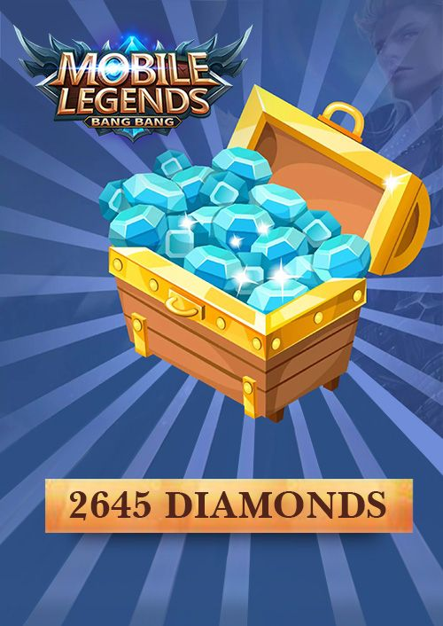 Mobile Legends 2645 Diamonds