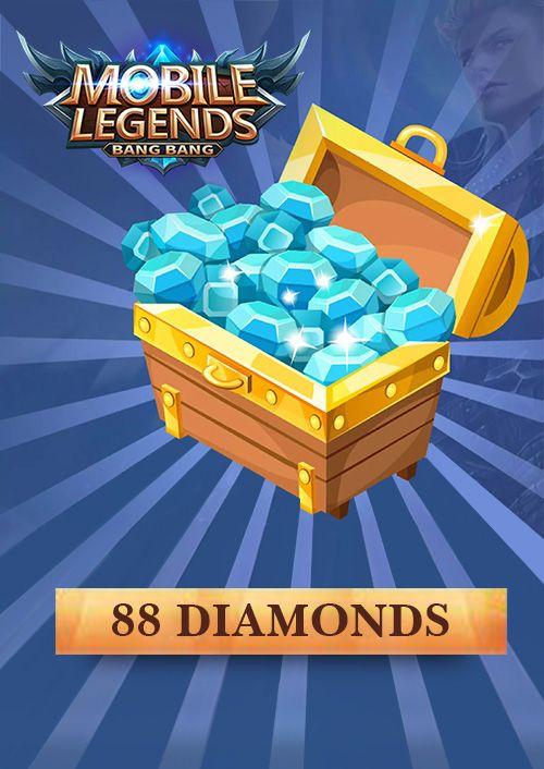 Mobile Legends 88 Diamonds