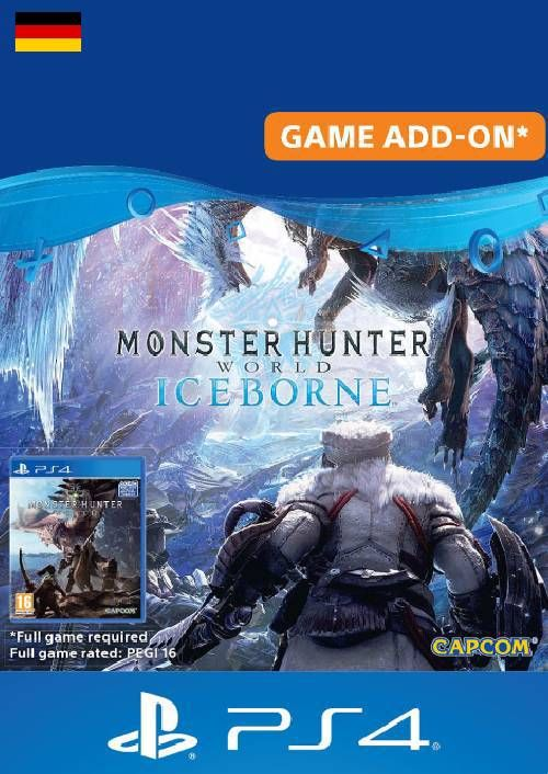 Monster Hunter World: Iceborne PS4 (Germany)