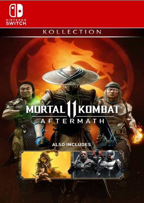 Mortal Kombat 11 Aftermath Kollection Us Switch Cdkeys