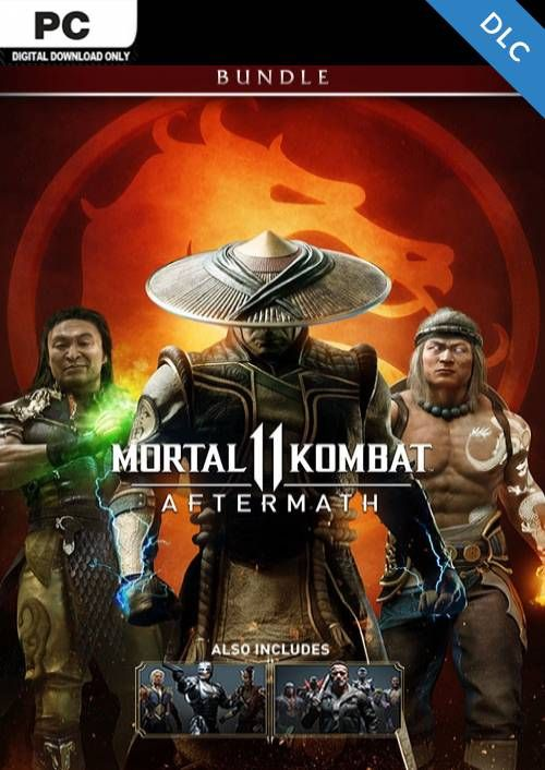 Mortal Kombat 11: Aftermath + Kombat Pack Bundle PC - DLC