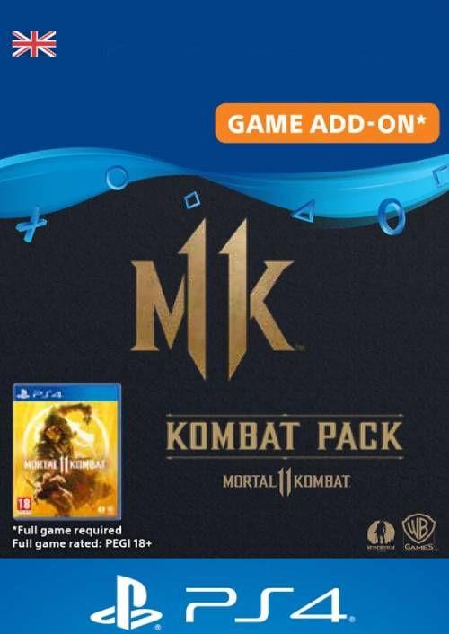 Mortal Kombat 11 Kombat Pack PS4