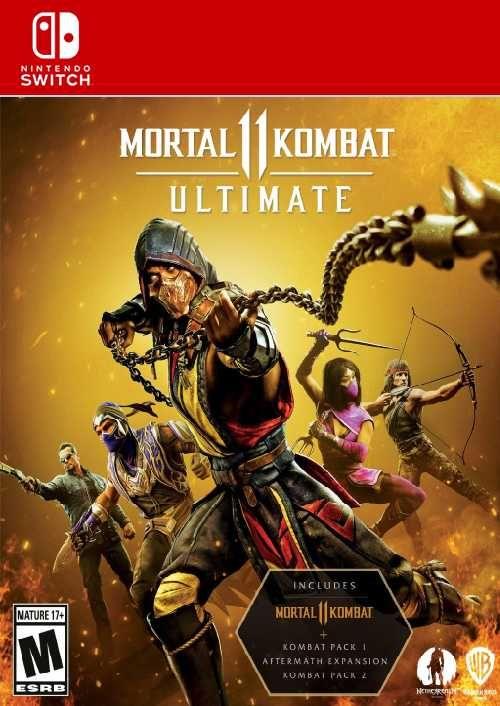 Mortal Kombat 11 Ultimate Switch (EU)