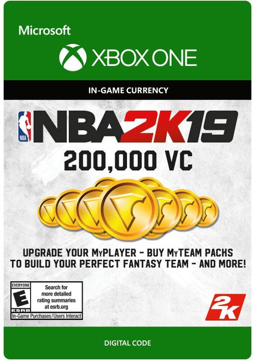 NBA 2K19: 200,000 VC Xbox One