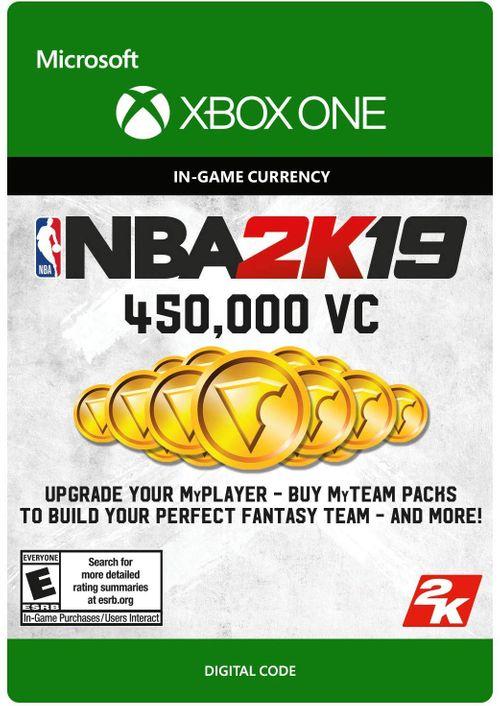NBA 2K19: 450,000 VC Xbox One