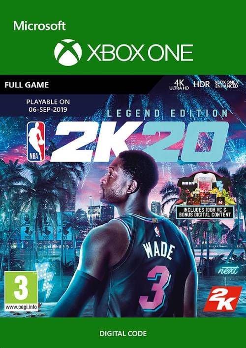 NBA 2K20: Legendary Edition Xbox One