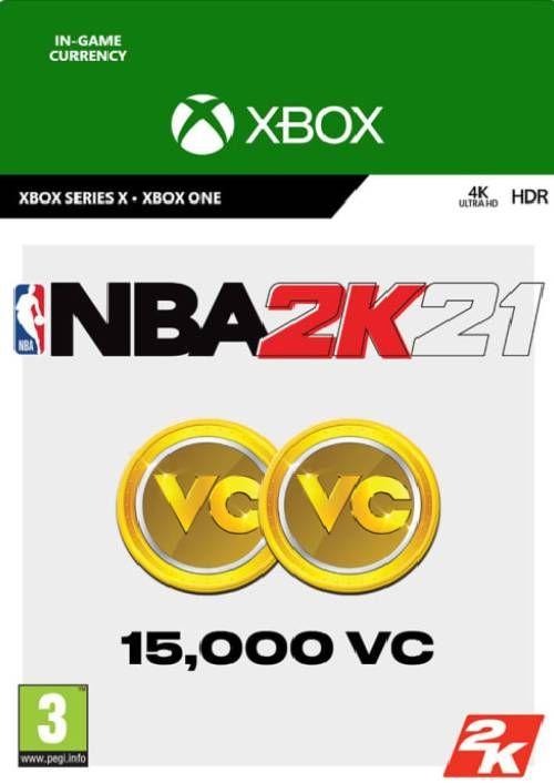 NBA 2K21: 15,000 VC Xbox One