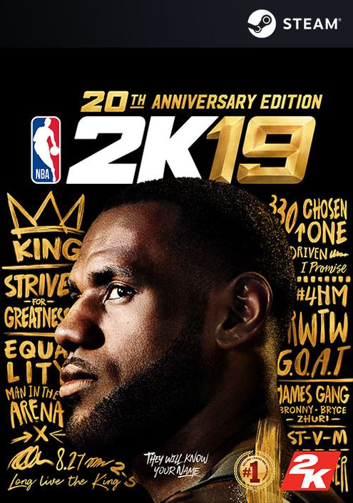 NBA 2K19 20th Anniversary Edition PC