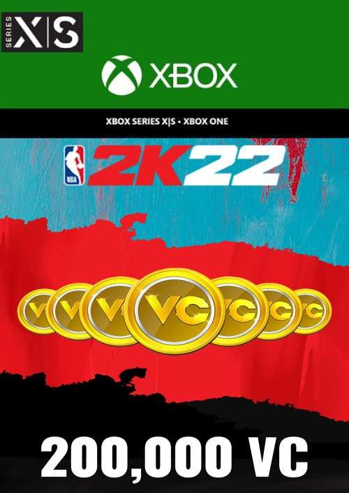 NBA 2K22 200,000 VC Xbox One/ Xbox Series X S (EU)