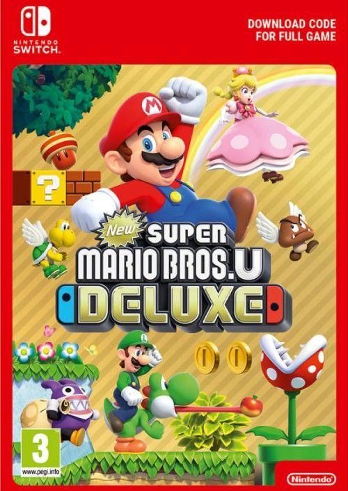 New Super Mario Bros U Deluxe Us Switch Cdkeys