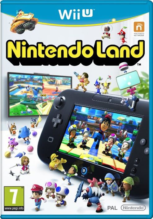 Nintendo Land Wii U - Game Code